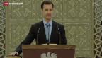 Video «Syrien wird zu einem möglichen Partner des Westens» abspielen