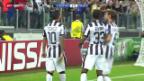 Video «Fussball: Champions League, Carlos Tevez' Treffer gegen Malmö» abspielen