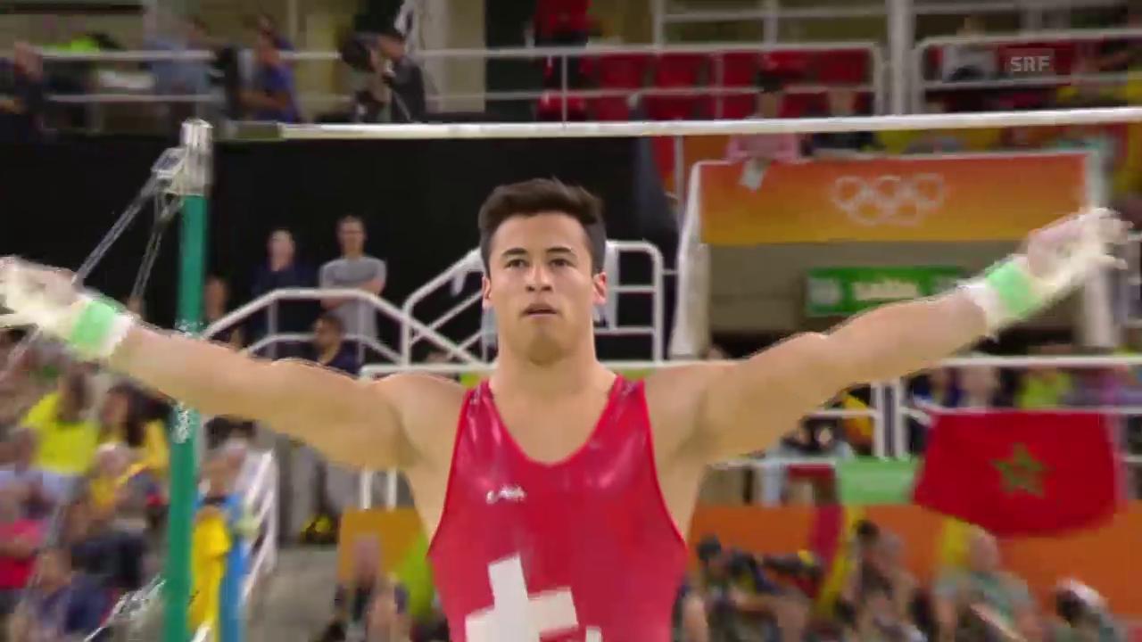 Die Schweizer Männer überzeugen im Mehrkampf