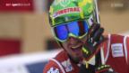Video «Ski alpin: Männer, Super-G von Kitzbühel» abspielen