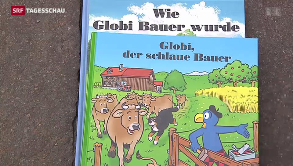 Globi setzt als «schlauer Bauer» auf Bio