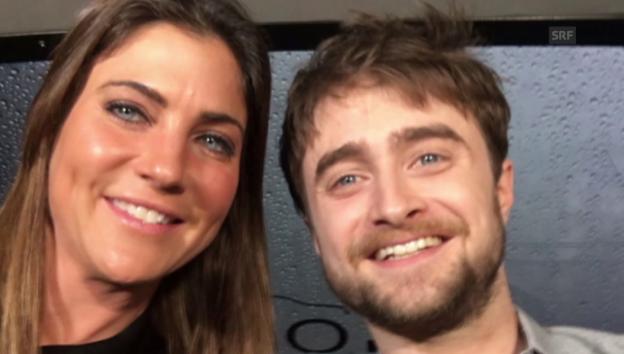 Video «In der Limo mit Daniel Radcliffe» abspielen