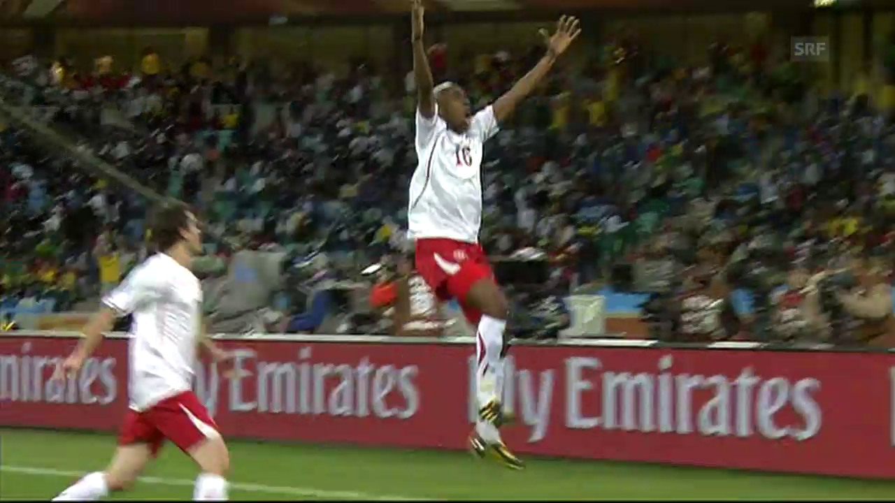 Gelson Fernandes' Treffer gegen Spanien