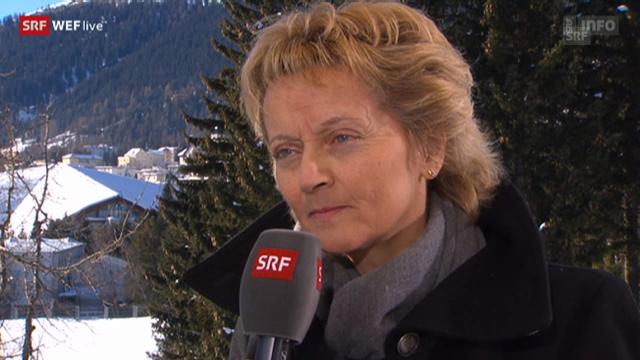 Eveline Widmer-Schlumpf über die Verhandlungen mit den USA