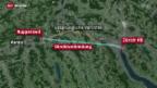 Video «Tunnel zwischen dem Aargau und Zürich geplant» abspielen