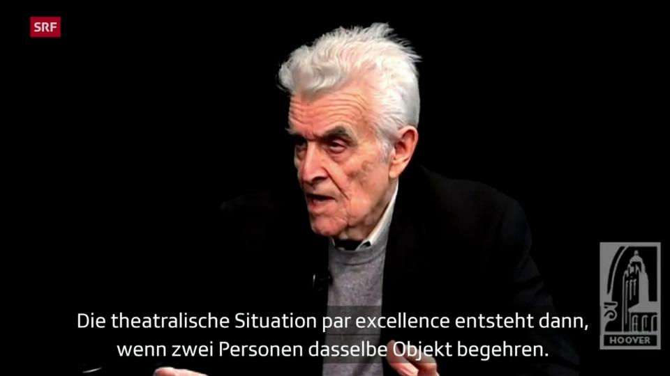 René Girard – Der andere ist mein Feind