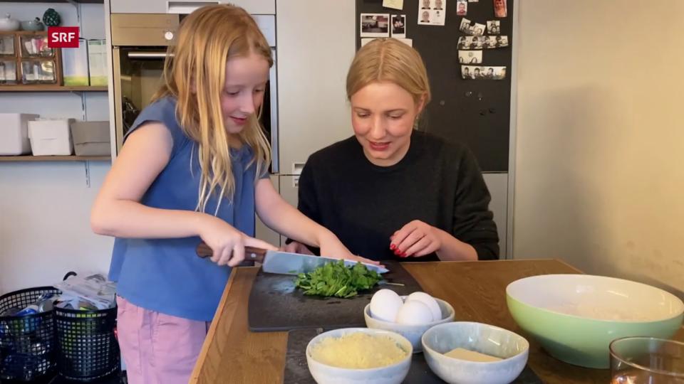 «Jetzt koche ich!» - Bärlauch-Spätzli