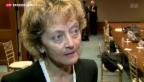 Video «Widmer-Schlumpf zu den Erwartungen der Finanzminister» abspielen