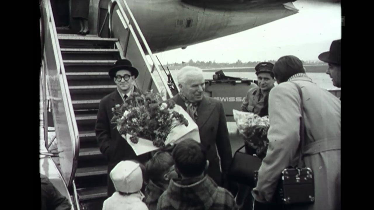 «Chaplin kommt in die Schweiz», SFW, 5.12.1952
