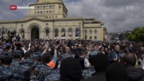 Video «Protestwelle in Armenien » abspielen