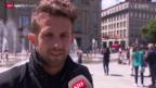 Video «Fussball: Neuankömmlinge Sulejmani und Benito bei YB» abspielen
