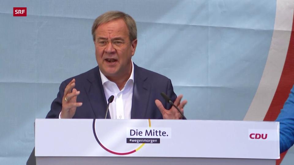 Laschet: «Ich will nicht, dass die Linken in der nächsten Regierung sitzen»
