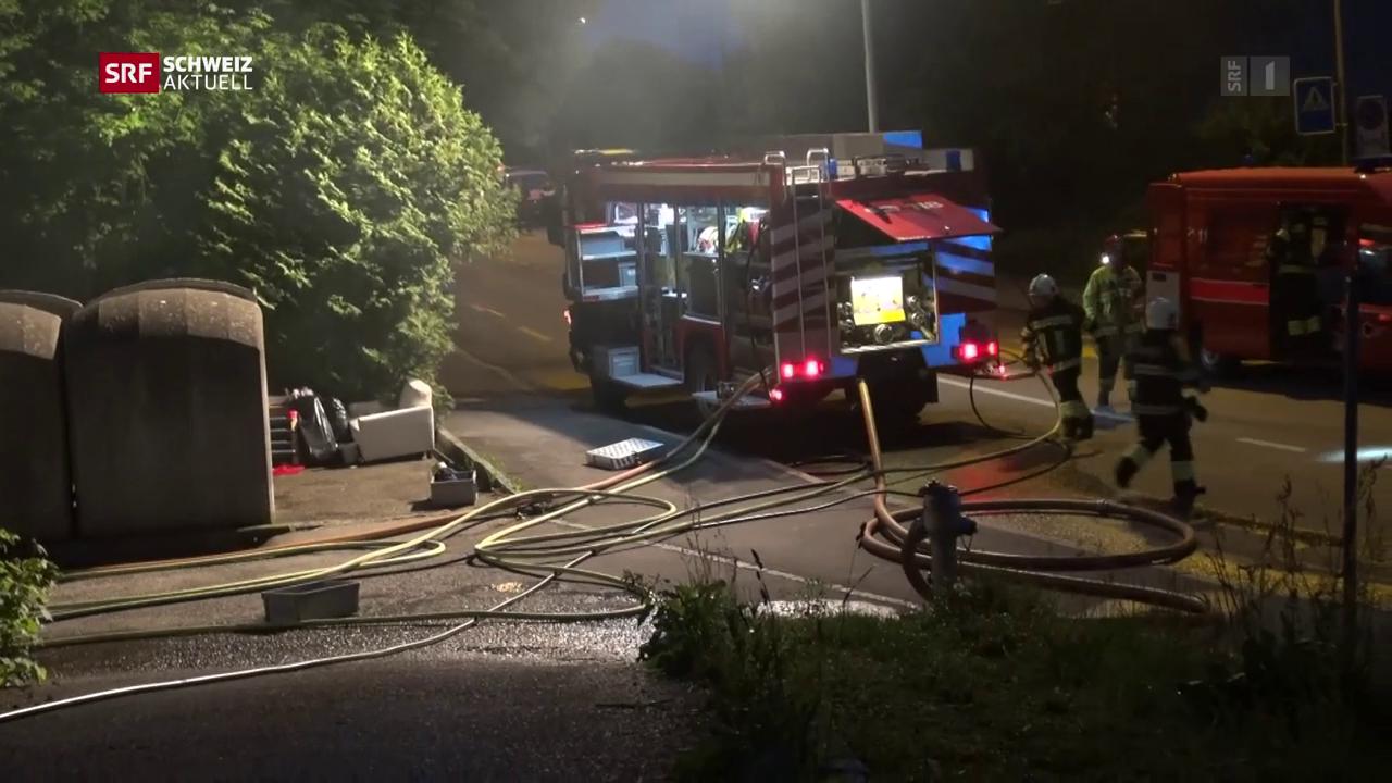 49 Personen nach Brand im Spital
