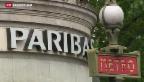 Video «BNP Paribas droht eine Milliarden-Busse» abspielen