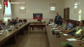 Video «Ukraine: Erste Gespräche der Konfliktparteien geben Hoffnung » abspielen