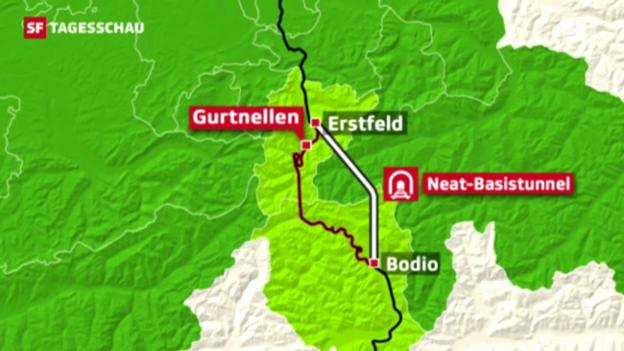 Video «Gotthard bald nur noch von regionaler Bedeutung?» abspielen