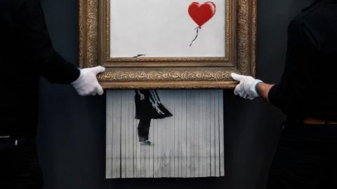 Kultur_Online_Ausschnitt: Banksy Ausstellung Basel