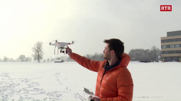 Laschar ir video «Ina drona – ed uss?»