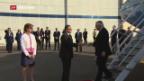 Video «Heikle Mission für Tillerson» abspielen