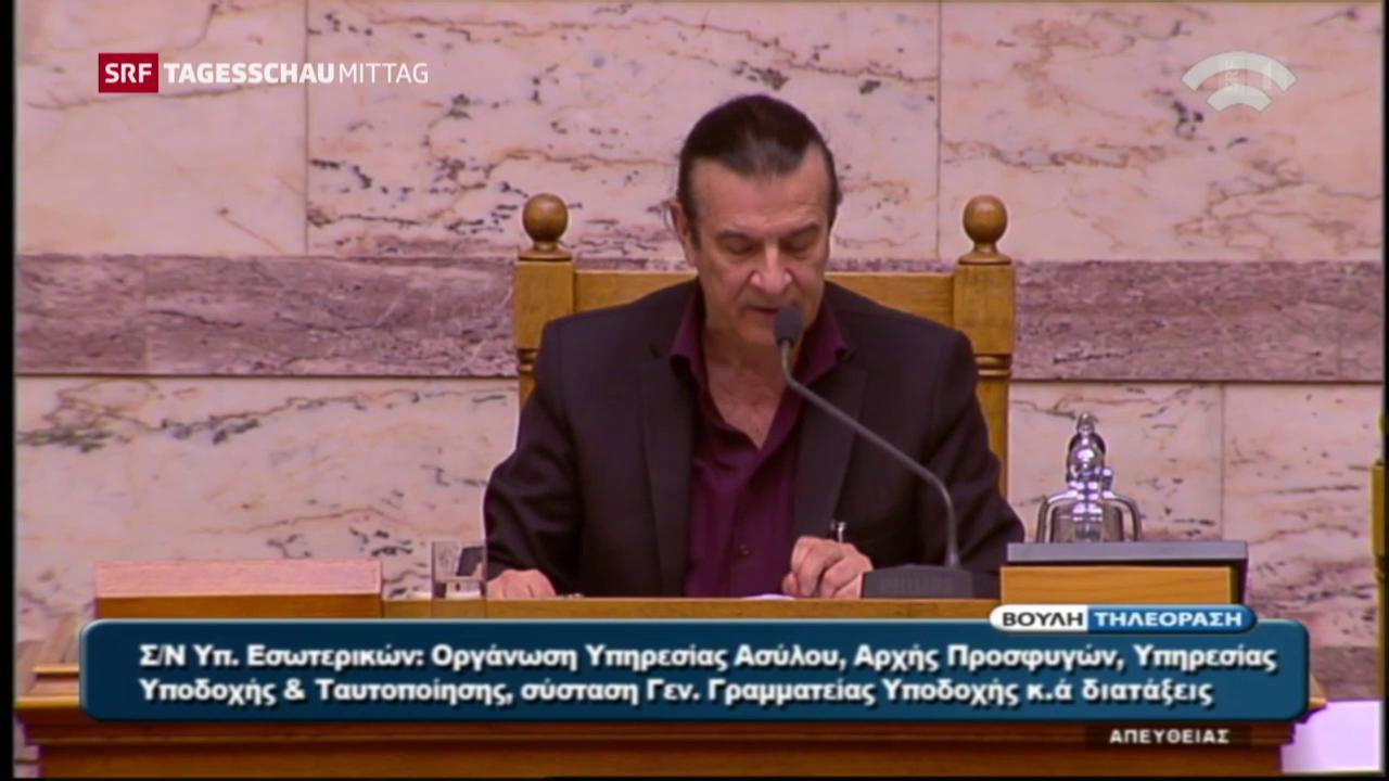 Griechisches Parlament für Flüchtlings-Rückführungen