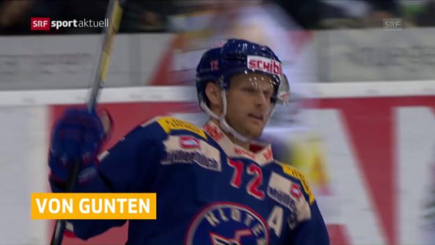 Video «Hockey-News: Von Gunten und Kukan» abspielen