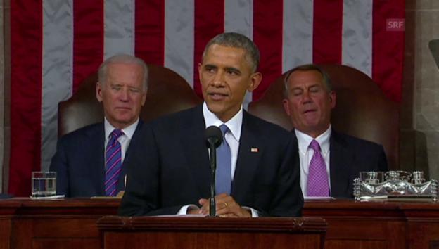 Video «Obama spricht zu seinem Volk (unkommentiert)» abspielen