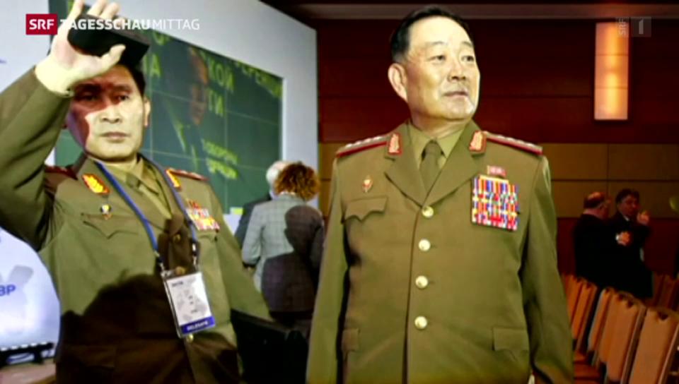Kim Jong Un räumt «respektlosen» Verteidigungsminister aus dem Weg
