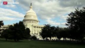 Video «Geht den USA am 1. Oktober das Geld aus?» abspielen