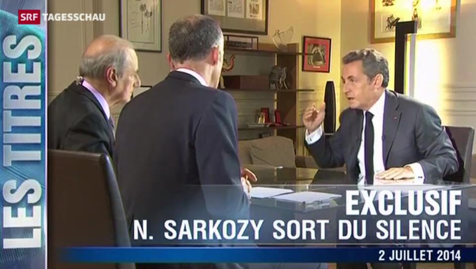 Sarkozy schimpft über die Justiz