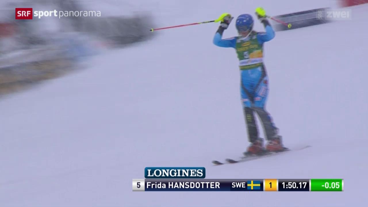 Ski: Slalom Frauen in Kranjska Gora