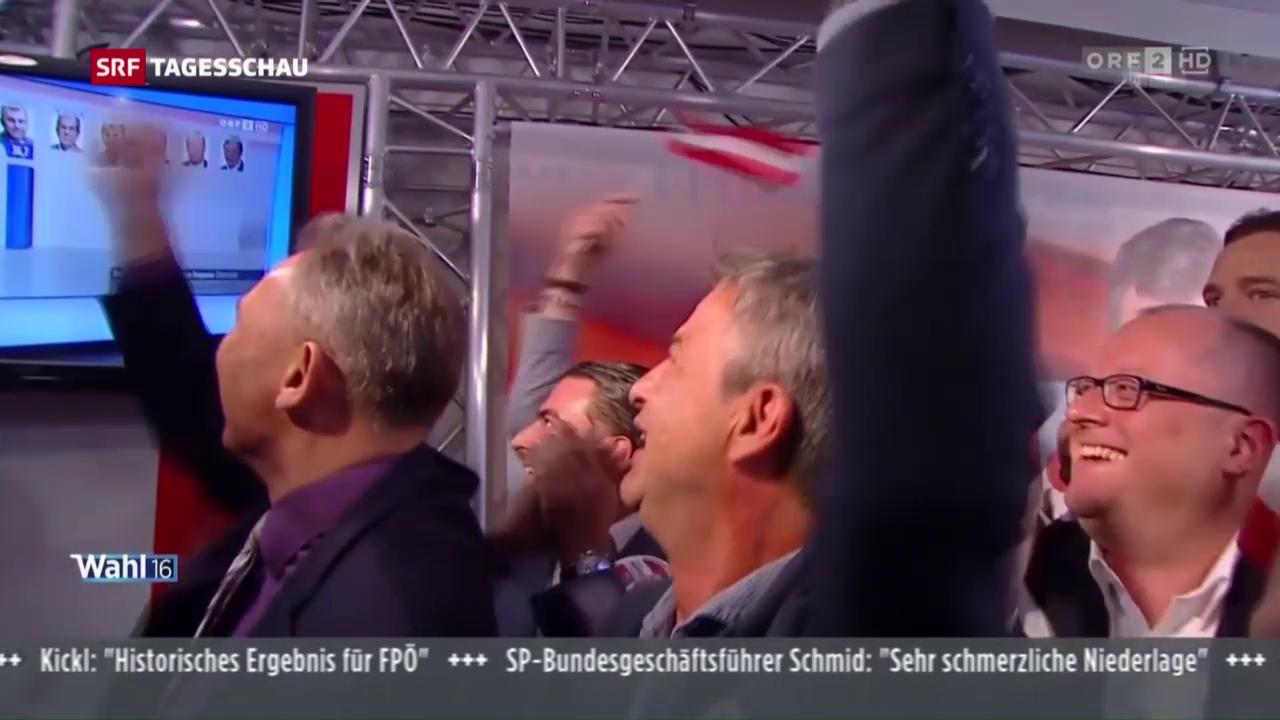 Wahl in Österreich – schallende Ohrfeige für ÖVP und SPÖ
