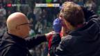 Video «Thun entführt 3 Punkte aus St. Gallen» abspielen