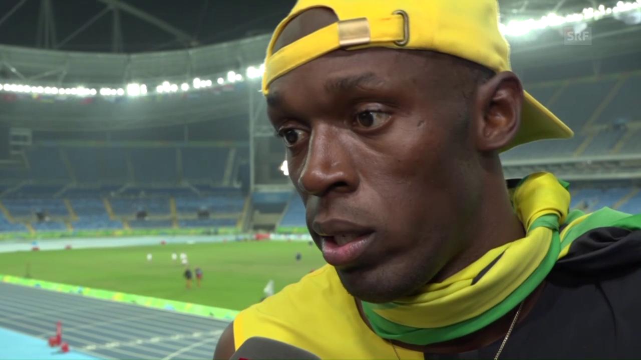 Bolt: «Ich bin stolz auf mich»