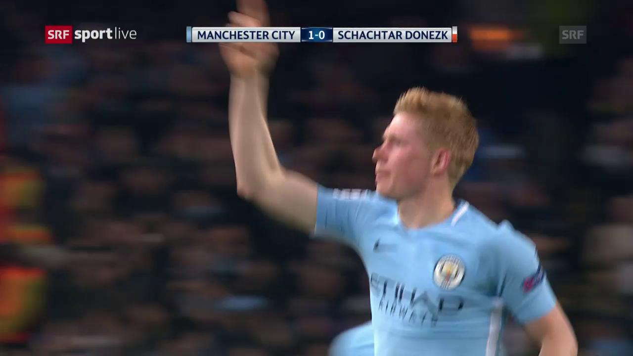 Manchester City weiterhin ohne Gegentor