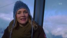 Link öffnet eine Lightbox. Video «Kulturplatz» mit Eva Wannenmacher in Schnee und Eis abspielen.