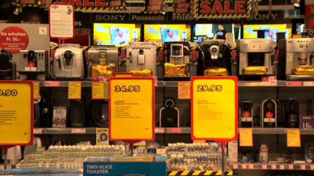 Video «Bschiss mit Garantie: Händler verstossen gegen das Gesetz» abspielen