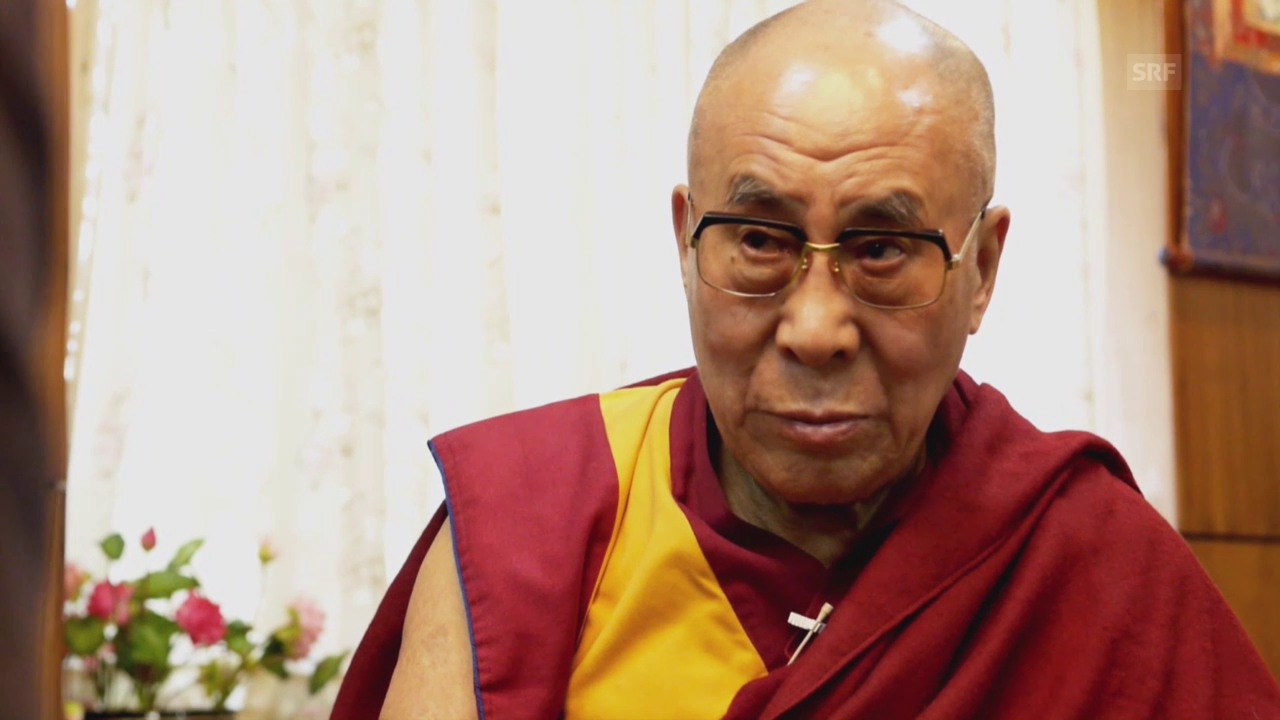 Loten Namling trifft den Dalai Lama