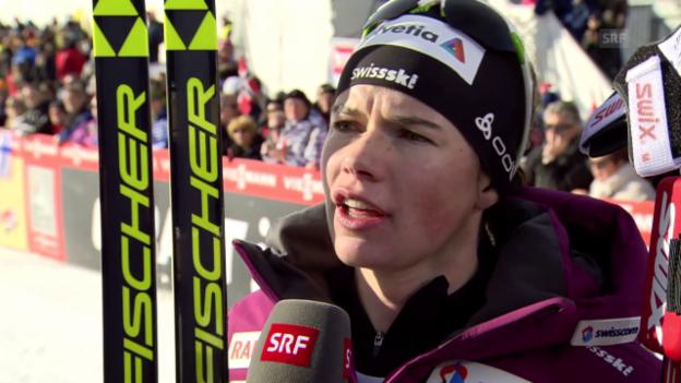Video «Langlauf: WC Davos, Interview Von Siebenthal» abspielen