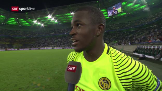 Video «Yvon Mvogo: «Heute hat man nur eine Mannschaft gesehen»» abspielen