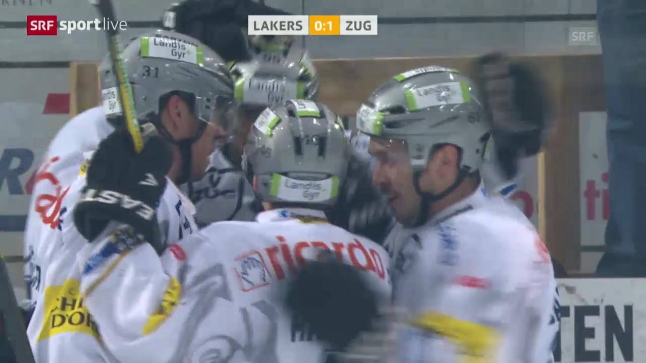 Eishockey: Lakers - Zug