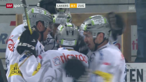 Video «Eishockey: Lakers - Zug» abspielen