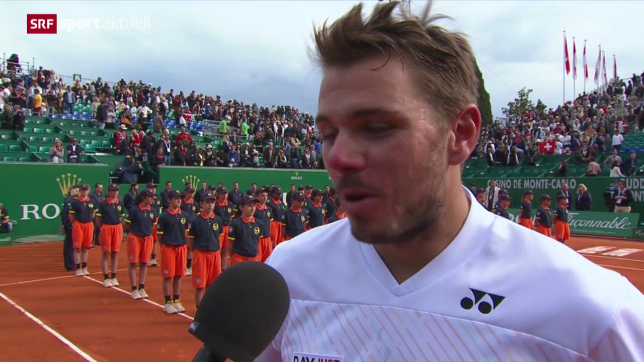 Tennis: Reaktionen zum Schweizer Final in Monte Carlo