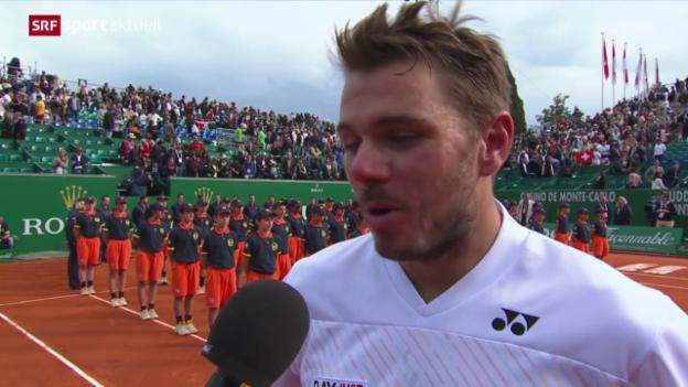 Video «Tennis: Reaktionen zum Schweizer Final in Monte Carlo» abspielen
