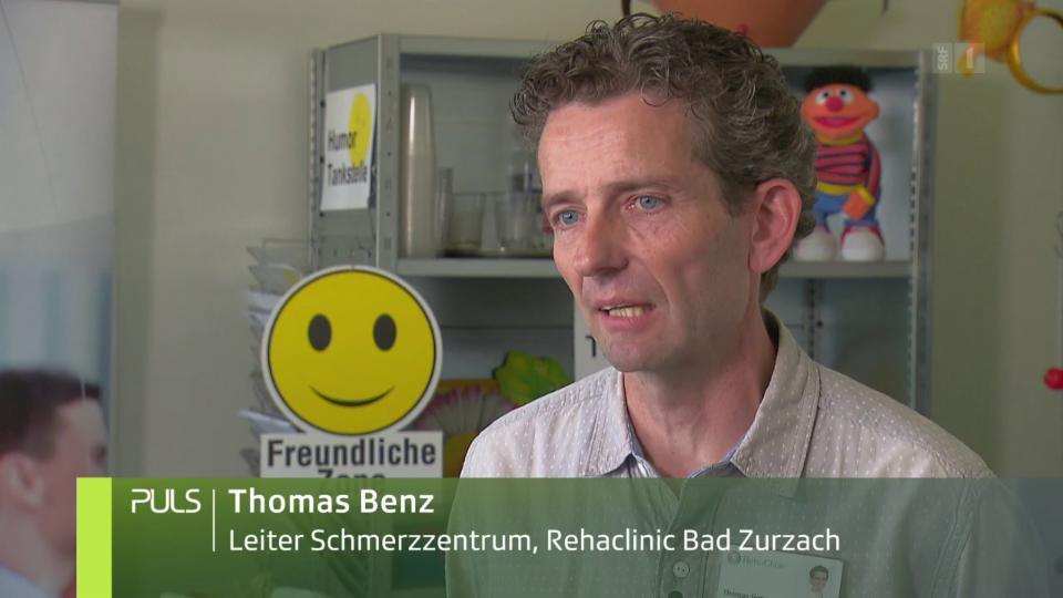 «Die Patienten setzen Elemente aus der Humortherapie immer wieder auch in anderen Therapien ein.»