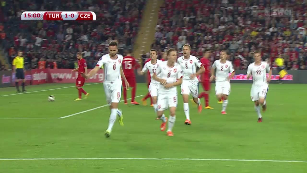 Fussball: EM-Quali, Türkei - Tschechien