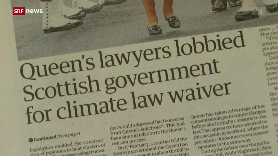Queen Elisabeth II gar nicht klimafreundlich