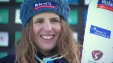 Video «Patrizia Kummer: «Es war ein toller Tag»» abspielen