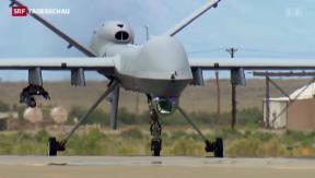 Video «Amnesty prangert US-Drohnenangriffe an» abspielen