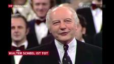 Video «Walter Scheel gestorben» abspielen