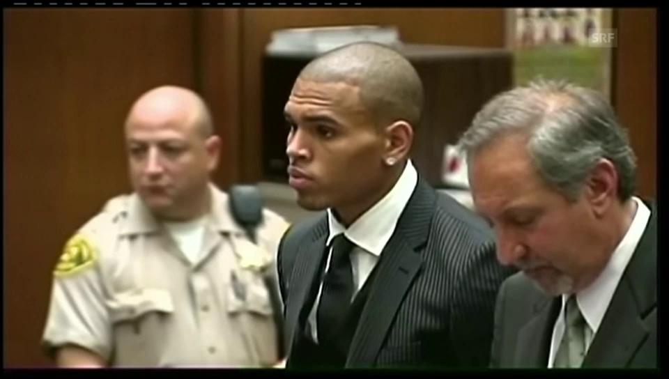Verurteilung Chris Brown